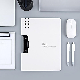 xiaomi youpin Urallife Fizz ngang A4 folder, kết cấu mờ, pad di động, khay bút di động, cặp dày, tài liệu họp văn phòng, dụng cụ học tập bỏ túi