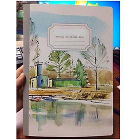 Sổ may gáy A4 3682 300 trang