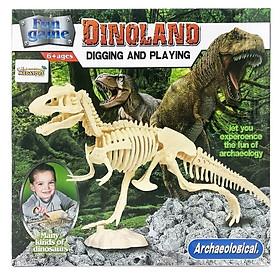 Đồ Chơi Khảo Cổ - Sưu Tầm Hóa Thạch Khủng Long T-rex-268-7