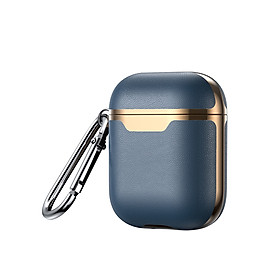 Leather Case Compatible With Airpods Wireless Earphone Cover Cases Compatible With Air Pods Headphone Box Protective