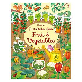 Usborne First Sticker Book: Fruit & Vegetables