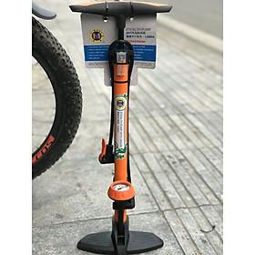 Bơm lốp xe đạp, xe máy có đồng hồ chính hãng CMART l0004