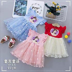 Váy công chúa Bạch Tuyết cho bé gái hàng Quảng Châu