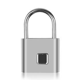 Ổ Khóa Vân Tay Điện Quang ĐQ SMRTLCK1.1 (Ổ khóa vân tay, loại nhỏ gọn di động, 10 dấu vân tay)