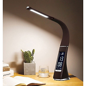 Đồng hồ kiêm đèn led để bàn U2 ( ĐỒNG HỒ, ĐÈN LED, BÁO THỨC, LỊCH, NHIỆT KẾ )
