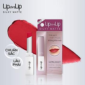 Son Lì Siêu Mịn Dưỡng Tối Ưu Lip On Lip Silky Matte 2.2g-2