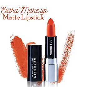 Son lì mềm môi Extra Makeup Matte Lipstick Hàn Quốc 3.5g (B03 - Bikini Rose) + Móc khóa-2