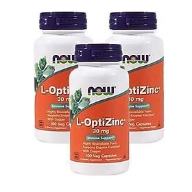 Viên Uống Now L-OpticZinc 30mg