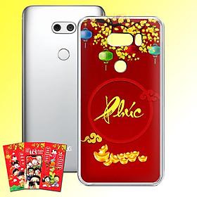 Ốp lưng điện thoại LG V30 - 01253 7963 PHUC02 - Tặng bao lì xì Chúc Mừng Năm Mới - Silicon dẻo - Hàng Chính Hãng