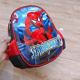 Balo Mẫu Giáo Siêu Nhân Spider Man 3D Cho Bé Trai