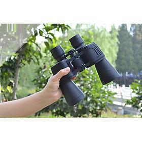 Ống nhòm 2 mắt cao cấp tầm nhìn xa, độ phóng đại 10 lần (Có nắp bảo vệ, chống thấm nước, hình ảnh sắc nét)- (Tặng Móc khóa to vít đa năng 3in1)