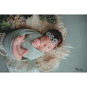 Chụp ảnh cho bé sơ sinh tại nhà của gia đình - Gói NewBorn Home Lily