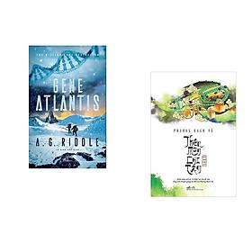 Combo 2 cuốn sách: Gene Atlantis + Thiên môn chi tâm