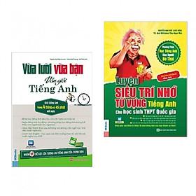 Combo Sách Học Tiếng Anh Tuyệt Hay:  Luyện Siêu Trí Nhớ Từ Vựng Tiếng Anh Cho Học Sinh THPT + Vừa Lười Vừa Bận Vẫn Giỏi Tiếng Anh (Quà Tặng: Bút Animal Cực Xinh)