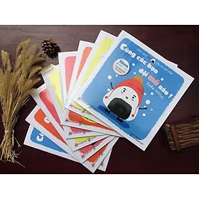 Full Combo 8 cuốn Sách Ehon Nhật Bản - Chơi Cùng  Giri - Chú Bé Cơm Nắm (2-8 tuổi) - Bí kíp giúp con độc lập, phát triển tiềm năng sáng tạo/ Đặc Biệt Tặng Kèm Sách Ehon Chiếc Miệng Của Trời Đêm