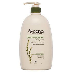 Aveeno Active Naturals Daily Moisturising Body Wash 1 Litre