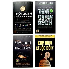 Combo 4 cuốn Kho báu cuộc đời-Gieo suy nghĩ gặt thành công-Thói quen thành công-5 nguyên tắc vàng nghĩ giàu làm giàu