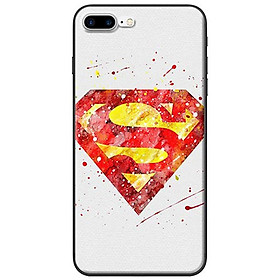 Ốp Lưng iPhone 7 Plus/ 8 Plus Superman