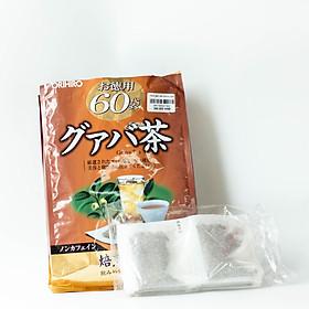 Trà lá ổi giảm cân, đốt mỡ Orihiro 60 gói