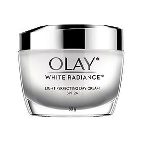 Combo Kem Dưỡng Ẩm Trắng Da Ngày Đêm Olay White Radiance 50g-1
