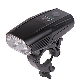 Đèn LED  Xe Đạp Siêu Sáng 2 Pha | Đèn HYD5503  Pin Lithium 5200 mah | Sạc USB Chống NướcTuyệt Đối, Cảm Ứng Ánh Sáng Tự Bật Đèn Khi Trời Tối | Độ Sáng 1000 Lumen Gấp 3 Lần Đèn LED Bình Thường | Có thể sáng tối đa 8 Giờ