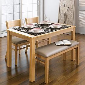 Bộ bàn ăn ghế băng Ulsan