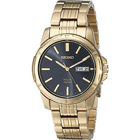 Seiko Men's SNE100 Solar Functional Watch