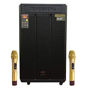 Loa kẹo kéo karaoke bluetooth di động Temeisheng GD-159 - Hàng nhập khẩu