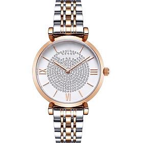 Women's Gypsophila Diamond  Butterfly Buckle Quartz Watch Leisure Decorative Watch Holiday Gift