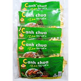 Combo 5 gói Canh Chua Tôm Ăn Liền (27g/gói)
