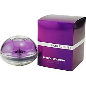 Ultraviolet By Paco Rabanne For Women. Eau De Parfum Spray 2.7 Ounces