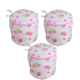 Combo 3 Túi giặt đồ lót tròn kiểu nhật bảo vệ đồ lót tối đa GS0010