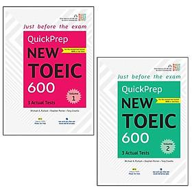 Combo Quickprep New Toeic 600 - Volume 1&2