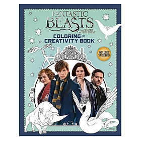 Sách tô màu Fantatsic Beasts Colouring and Creativity Bk