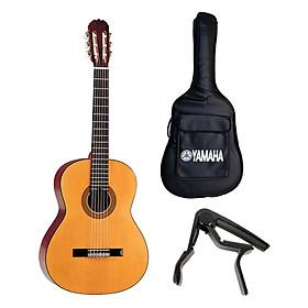 Combo Đàn Guitar Classic + Bao + Capo Hohner HC06