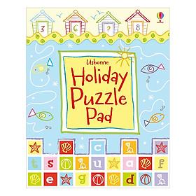 Usborne Holiday Puzzle Pad