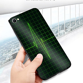 Ốp điện thoại dành cho máy Oppo R9S - Nhịp tim MS ACOTU001