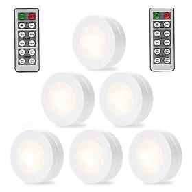 Đèn LED Không Dây Điều Khiển Từ Xa / Nhấn Để Bật Tắt Shenzhen (6 Cái)