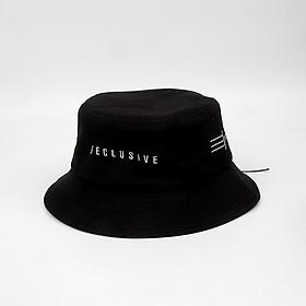Mũ bucket nam nữ thêu chữ Reclusive