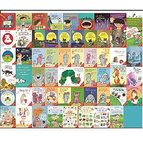 Combo 58 sách tranh song ngữ