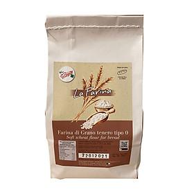 """Bột Mì Làm Bánh Mì Molino Bigolin - La Farina"""" Tipo 0 (1kg/túi)"""