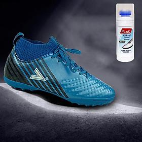 Giày bóng đá Mitre MT170434 màu xanh dương - Tặng bình làm sạch giày cao cấp
