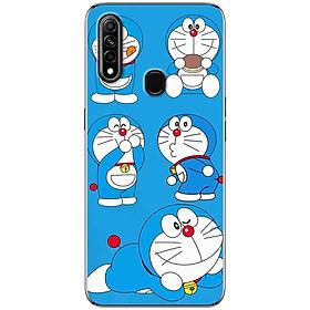 Ốp lưng dành cho Oppo A31 (2020) mẫu Doraemon ham ăn