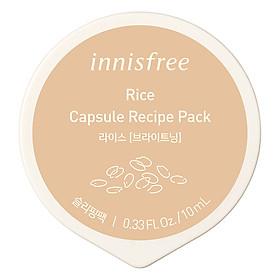 Mặt Nạ Ngủ Dạng Hủ Từ Gạo Innisfree Capsule Recipe Pack Rice (10ml) - 131170951