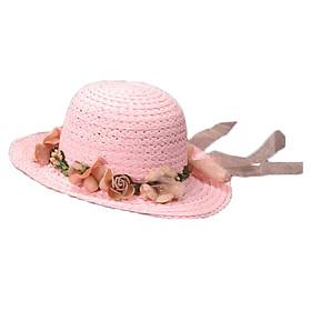 Nón mũ cói giấy tự nhiên cho bé gái từ 2-6 tuổi M16