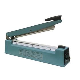MÁY HÀN TÚI DẬP TAY SF 400 VỎ SẮT, Được phủ lớp sơn tĩnh điện an toàn, Thao tác sử dụng đơn giản, Độ dài đường hàn 400mm Rộng 2mm, Sử dụng cho nhiều loại bao bì bảo quản