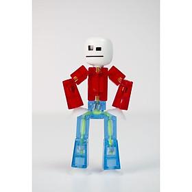 Stikbot nguyên bản dòng 3-trắng và đỏ và xanh da trời SKU TST616/SC