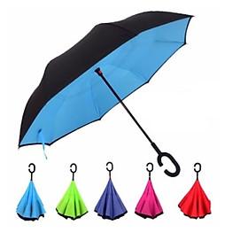 Ô gấp ngược đi mưa thông minh tiện lợi nhiều màu