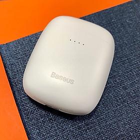 Tai nghe nhét tai không dây bluetooth 5.0 Baseus Encok W04 TWS  - Hàng chính hãng