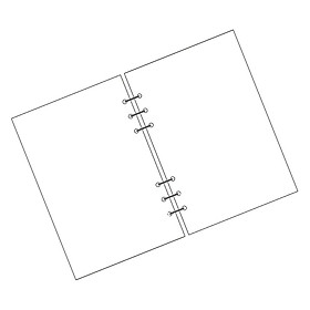 Loose-Leaf Paper Notebook Refills Inside The Notebook Notepad Core A5/A6/A7